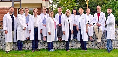 Das Team der Kinderchirurgie / Kinderurologie